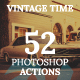Vintage Time Photoshop Actions