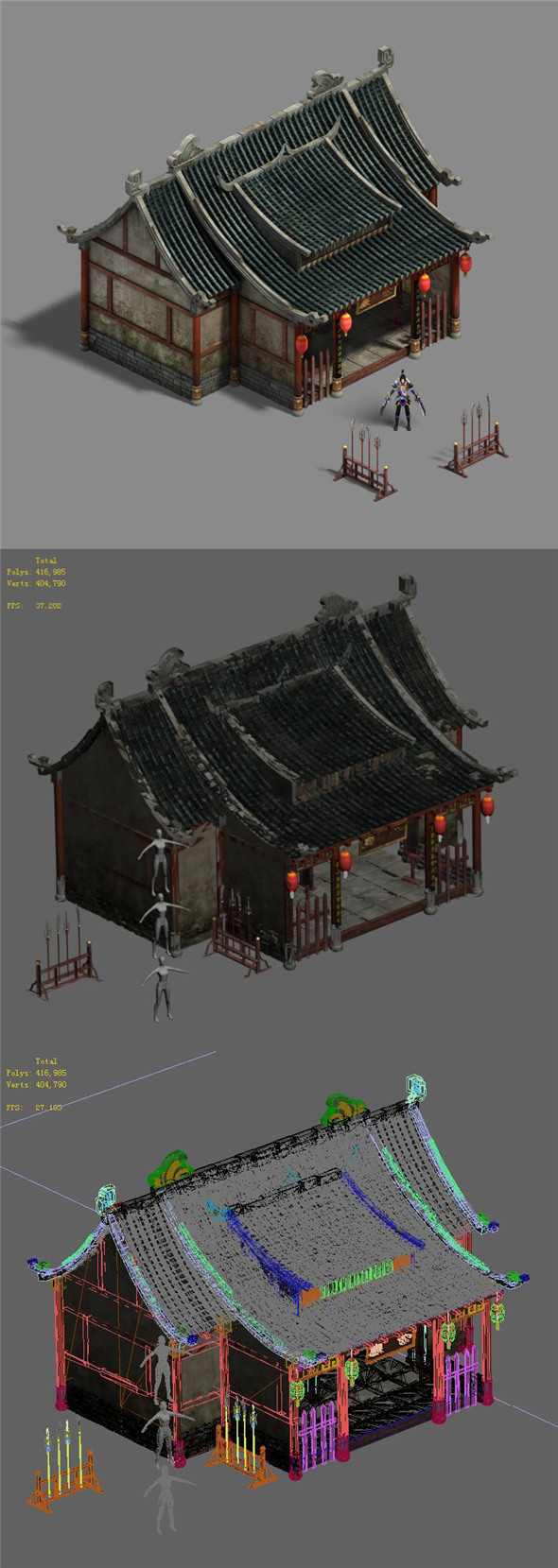 Medium city - government office - 3DOcean Item for Sale