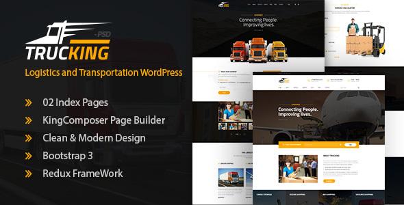 Trucking – Logistics and Transportation WordPress Theme (Business enterprise)