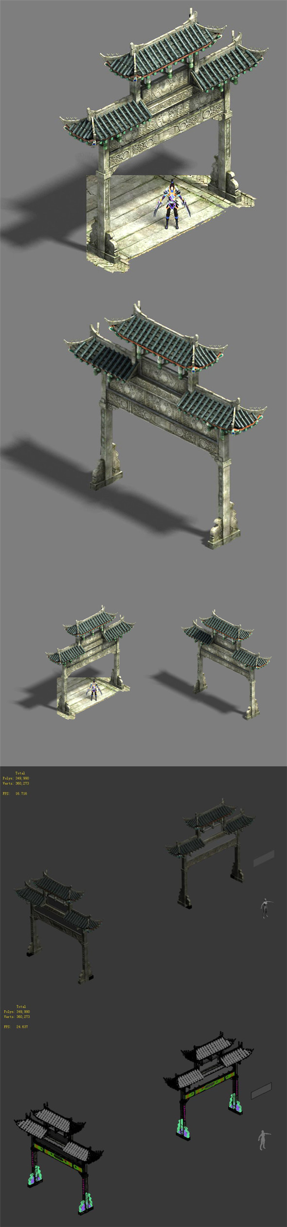 Medium city - arch - 3DOcean Item for Sale