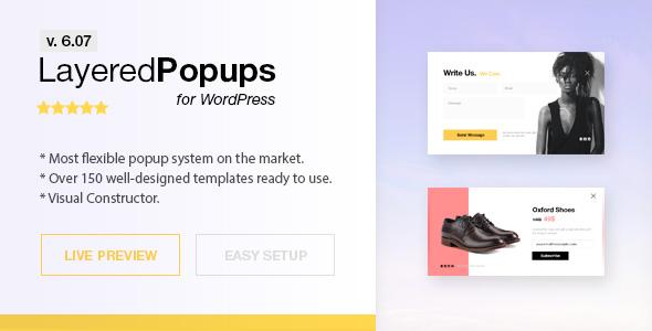 Popup Plugin for WordPress - Layered Popups