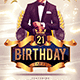 Birthday Party Flyer Template 1