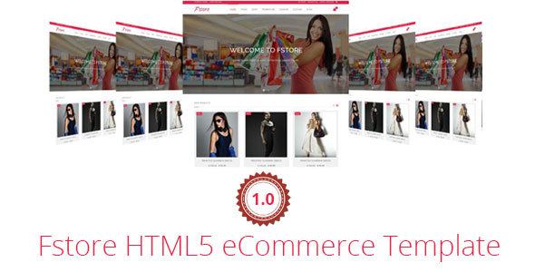 Fstore Bootstrap HTML5 eCommerce Template (Shopping) images