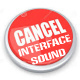 Interface Cancel Sound