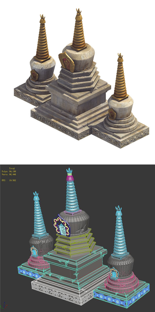 Religion - White Tower - 3DOcean Item for Sale