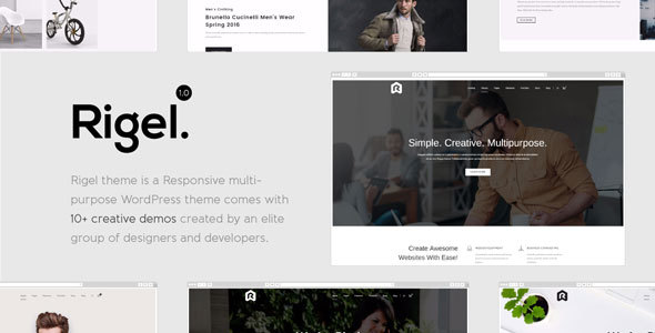 Download Rigel - Multi-Purpose Responsive WordPress Theme