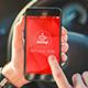 5 PSD Car Driver Responsive Phone and Tablet Mockups