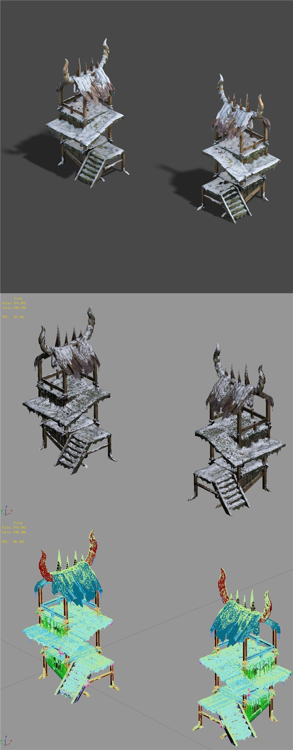 Ice and snow - outposts - 3DOcean Item for Sale