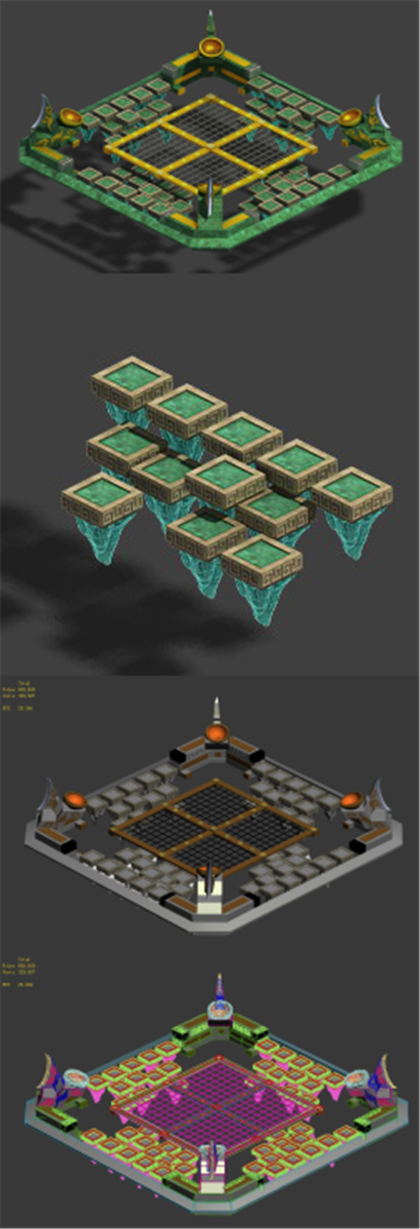 Soldier - Quartet Platform 02 - 3DOcean Item for Sale