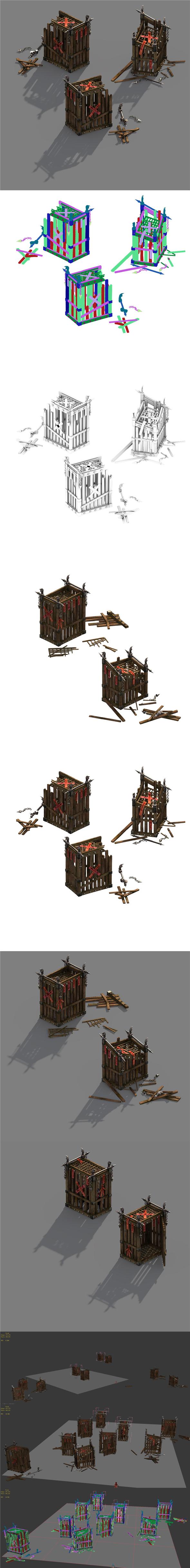 Horde - Cage - 3DOcean Item for Sale