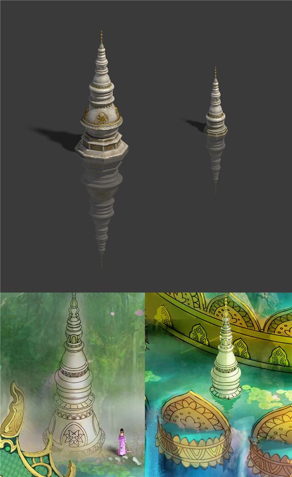 Zen - Minaret - 3DOcean Item for Sale