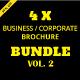 Corporate / Businees Brochure Bundle Vol. 2