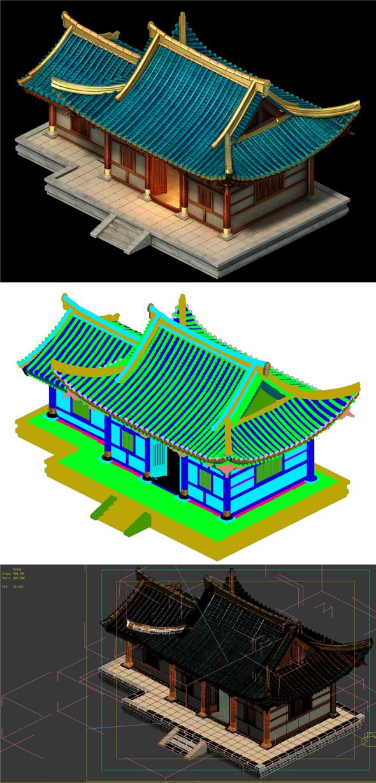 City Building - Housing 01 - 3DOcean Item for Sale