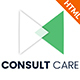 Consult Care - Business Consulting , Finance & Professional Services HTML Template