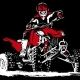 ATV QUAD BIKE T-SHIRT DESIGN