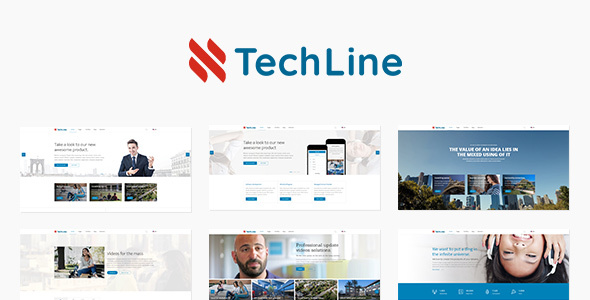 TechLine – Net solutions and organization theme (Company)