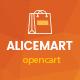 Alice - Multipurpose Responsive Opencart Theme