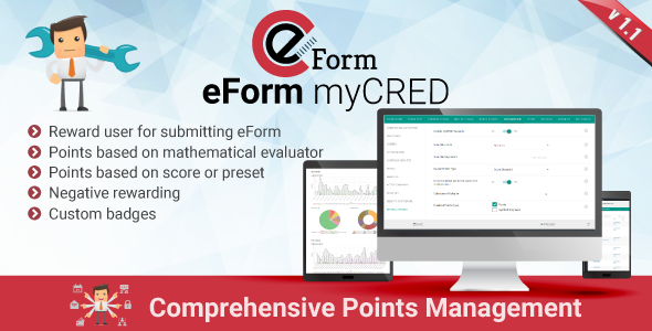 myCRED Integration for eForm - CodeCanyon Item for Sale