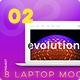 8 Editable Laptop Mockups, Part Two