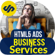 Business Services Ads Banner HMTL5 - 7 Sizes