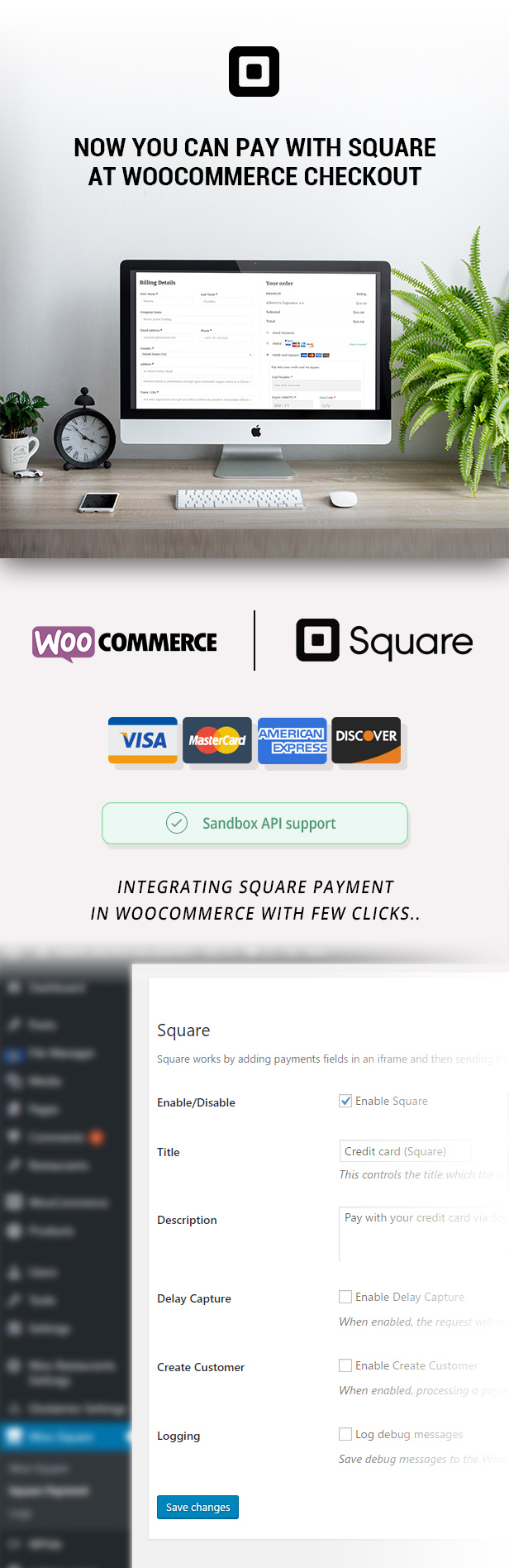 WooCommerce Square Up Payment Gateway 2