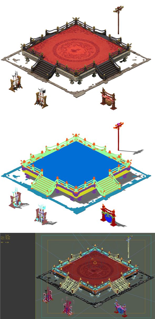 Game Model - City - Contest - 3DOcean Item for Sale