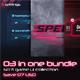 3 in 1 Sci-fi Game UI Bundle