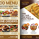 Restaurant Menu Bundle Templates