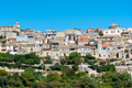 The old town of Buscemi in Sicily