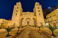 The norman cathedral of Cefalu in Sicily