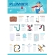 Professional Plumber Service Infographic Template