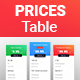 Gradients, Flat, Pricing Tables
