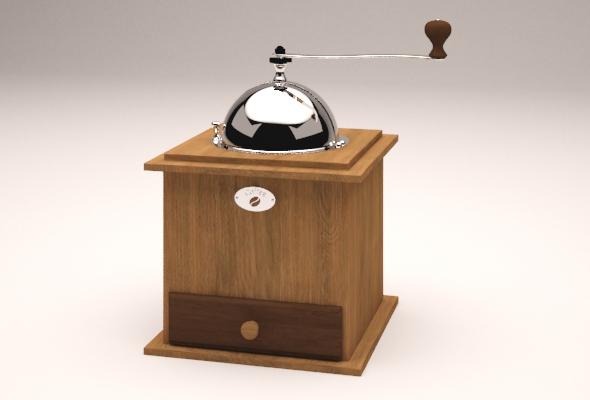 Hand Coffee Grinder - 3DOcean Item for Sale