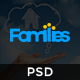 Families - Real Estate PSD Template