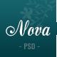 Nova - Fashion Ecommerce PSD Template