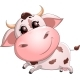 Baby Cow Cartoon