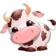 Baby Cow Cartoon