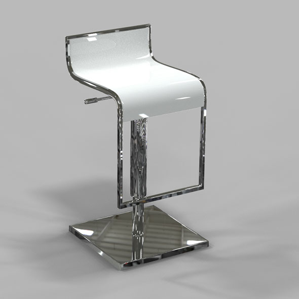 Barstool - 3DOcean Item for Sale