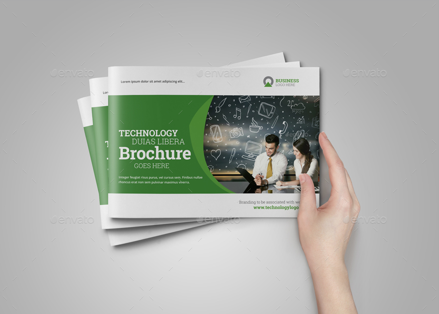 Technology Brochure Catalog Template v4 by JbnComilla – Technology Brochure Template