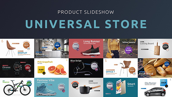 Universal Store – Product Slideshow (Commercials) After