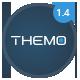 Themo - творческая параллакс-тема на WordPress