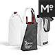 Cotton Wine Bags 3 Types Mock-up