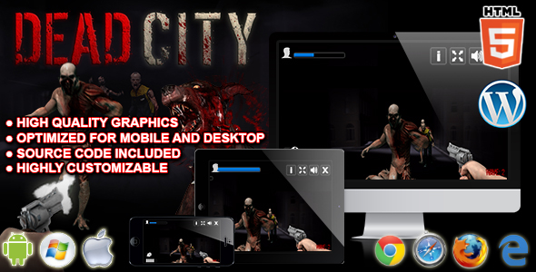 Download Dead City - HTML5 Shooting Game