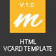 Mendy : Personal Vcard/Resume HTML5 Template