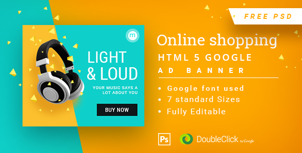 Download Online Shopping - HTML5 Animated Banner 14