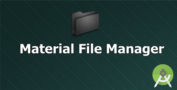 Material File Manager - CodeCanyon Item for Sale