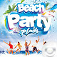 Flyer Beach Party Splash
