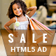 Shopping - HTML5 Animated Banner 02