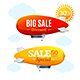 Sale Concept Labels with Airship