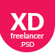 XD Freelancer- Personal/Agency Portfolio One Page PSD Template